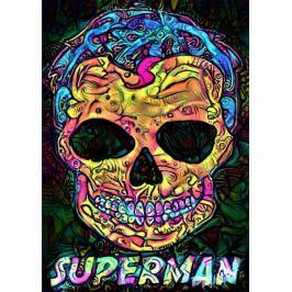 PsychoSkulls, Superman, DC Comics - plakat