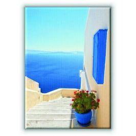 Grecja. Santorini. - Obraz na płótnie