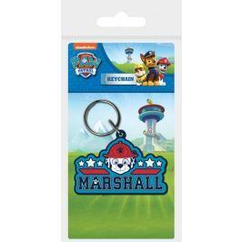 Brelok do kluczy gumowy Psi Patrol (Marshall)