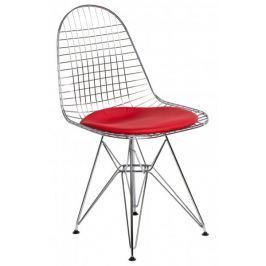 Krzesło Net czerwona pojedyncza poduszka outlet