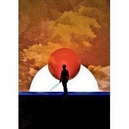 Sol Lunaris - Luke Skywalker, Gwiezdne Wojny Star Wars - plakat