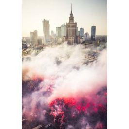 Powstańcza Warszawa - plakat premium