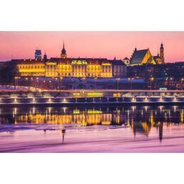 Warszawa Zamek Królewski Bajkowy Zamek - plakat premium