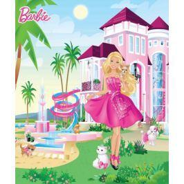 Tapeta fototapeta Barbie różowy pałac