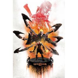 God of War Key Art - plakat