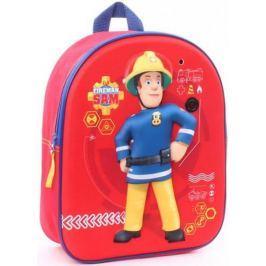 Plecak Strażak Sam plecaczek Fireman Sam 3D z dźwiękiem