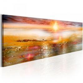 Obraz - Pomarańczowe morze