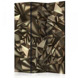Parawan 3-częściowy - Abstrakcyjna symetria [Room Dividers]