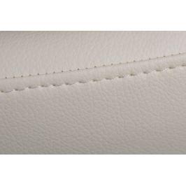 Fotel Jajo szeroki skóra ekologiczna 506 biały
