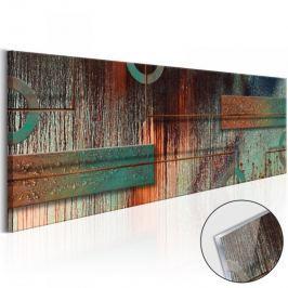Obraz na szkle akrylowym - Abstrakcyjny artyzm [Glass]