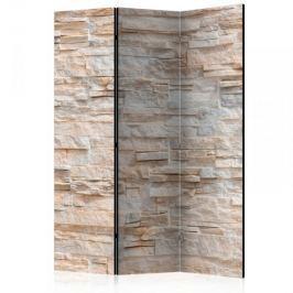 Parawan 3-częściowy - Kamienne wyrafinowanie [Room Dividers]