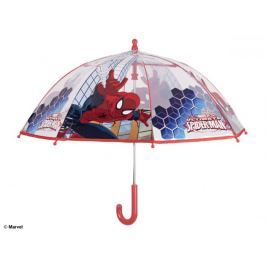 Parasol manualny Spiderman transparentny