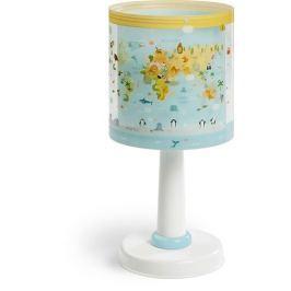 Lampka nocna Baby World na szafkę Mapa Świata 40721