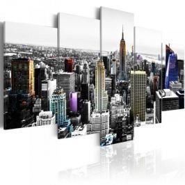 Obraz - Miasto kolorów