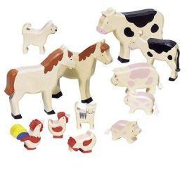 Figurki zwierząt, farma, 12 el.