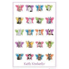 Keith Kimberlin Kotki ze Skrzydełkami Motyli - plakat