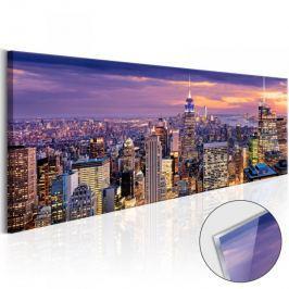 Obraz na szkle akrylowym - Przebudzenie miasta [Glass]