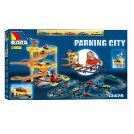 MOLTO Parking  garaż 3 poziomowy + tor + 5 autek #S1