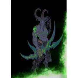 BlizzardVerse Stencils - Illidan, the Betrayer, Warcraft - plakat