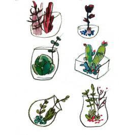 Botaniczne II - plakat