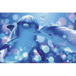 Lassen - Pocałunek Delfinów - plakat