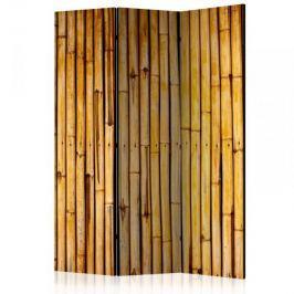 Parawan 3-częściowy - Bambusowy ogród [Room Dividers]
