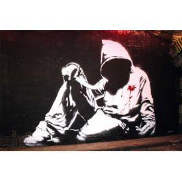 Banksy Hoodie - plakat