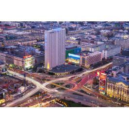Warszawa Centrum - plakat premium