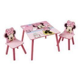 Stolik z krzesłami Myszka Minnie