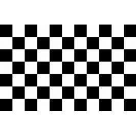 Bord pasek dekoracyjny Szachownica 15cm