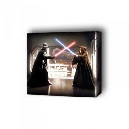 Gwiezdne Wojny Vader kontra Obi Wan - obraz na płótnie