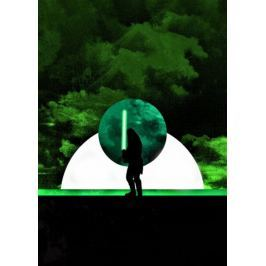 Sol Lunaris - Qui-Gon Jinn, Gwiezdne Wojny Star Wars - plakat