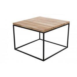Stolik Cube 60x60cm dąb jasny