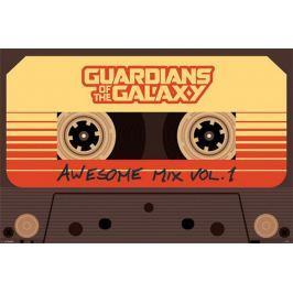 Strażnicy Galaktyki Niesamowita Składanka - plakat