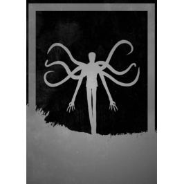 Dusk of Villains - Slenderman - plakat