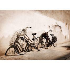 Stare rowery, Włochy - fototapeta