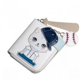 JUST STAR Króki portfel z kotem