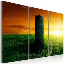Obraz - Zaczarowane drzwi