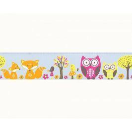 Pasek dekoracyjny Sowy Sówki 94113-3 Esprit Kids 3 Border
