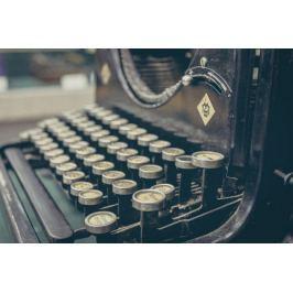 Maszyna do pisania - plakat