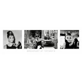Audrey Hepburn - Śniadanie u Tiffanego - Tryptyk - plakat