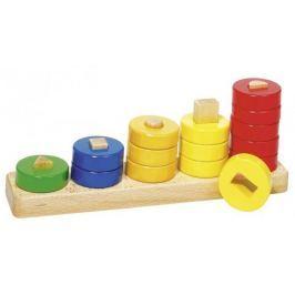 Sortowania kolorów i kształtów, naucz się liczyć, 15 el.