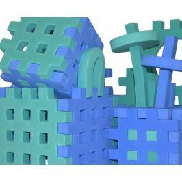 PIANKOWE PUZZLE SENSORYCZNE 230EL. blue-green premium #U1