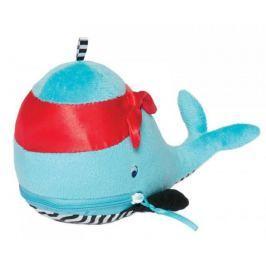 Niebieski wieloryb z gryzakami Manhattan Toy