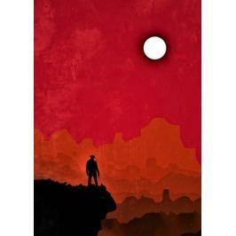Red Dead Redemption Vintage Poster - plakat