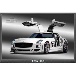 Mercedes SLS - plakat