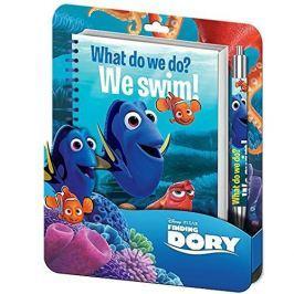 Notatnik + długopis zestaw Gdzie jest Dory?