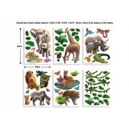 Zestaw naklejek Dżungla - Safari