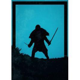 Dawn of Heroes - Jon Snow. Gra o tron - plakat