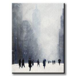 Blizzard - 5th Avenue - Obraz na płótnie